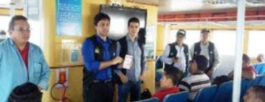 Fiscais do Procon confirmaram as irregularidades nas embarcações e no serviço prestado