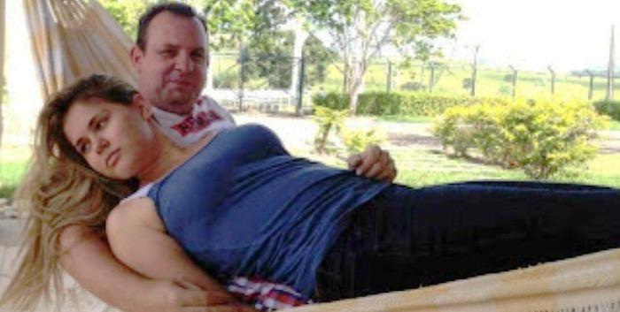 Ao lado do ex-marido Beto Rocha, Lidiane Leite está em maus lençóis na Justiça