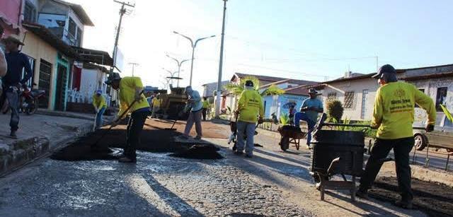 Prefeitura já iniciou oras com recursos próprios