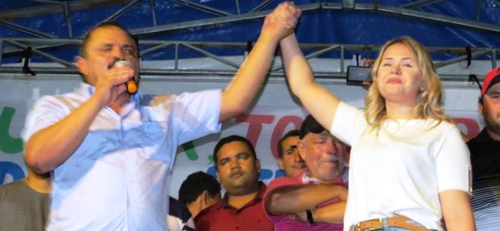 Preisdente do PP, Waldir Maranhão fez campanha ao lado de Lidiane Rocha