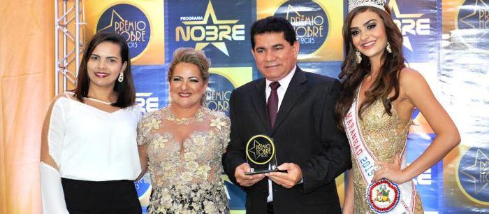Alan Linhares, durante a premiação em São Luís