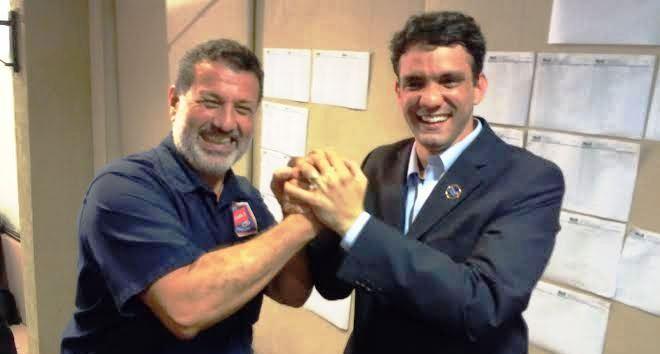 Charles Dias e Thiago Diaz: vitória da unidade