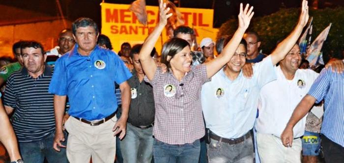 Com Ildon Marques, em 2012, quando chegou a ameaçar a reeleição de Sebastião Madeira