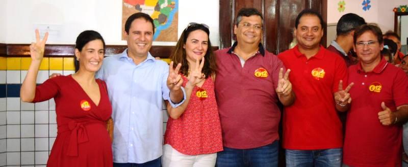 Edivaldo Júnior e seus parceiros no PCdoB e no PDT: 2018 já está na pauta