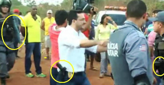 Policiais armados mantiveram eleitores de Teresa ad acuados em Coroatá; ação deve se repetir em São Luís
