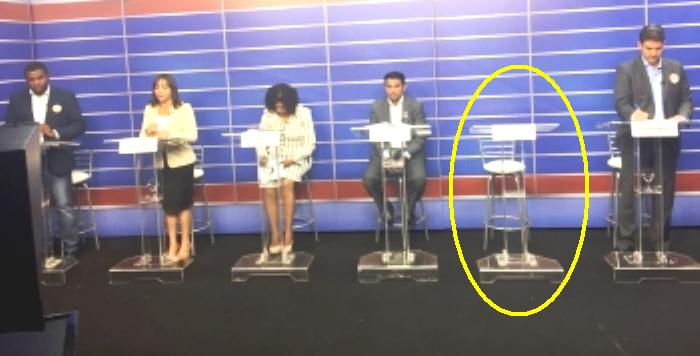 Edivaldo faltou à maioria dos debates, mas está chamando para o da Mirante