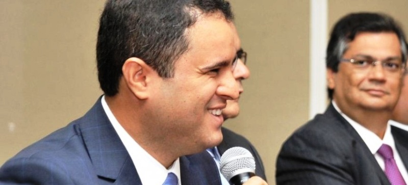 Edivaldo já tinha o apoio forma de Dino, o que não trouxe novidade à sua declaração de voto