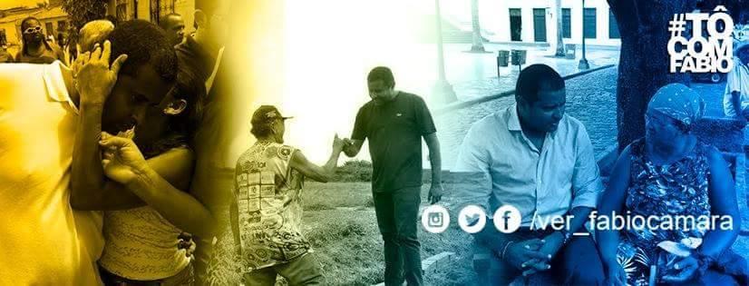 Momentos de Fábio Câmara na campanha viraram marcas em seu perfil no facebook