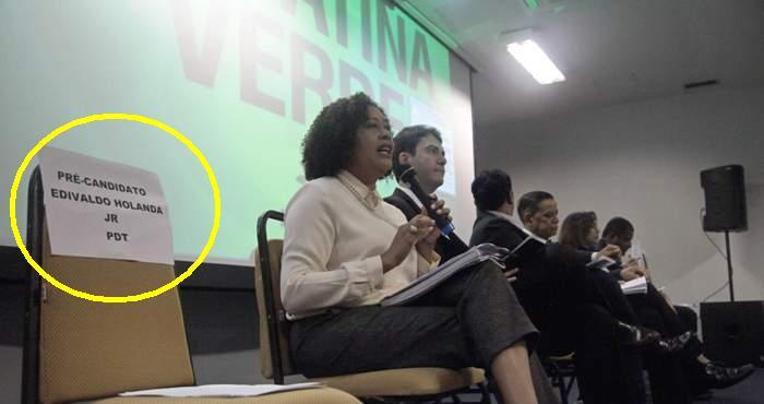 cadeiras vazias de Edivaldo no debates marcaram toda campanha de 2016; e ainda pode se repetir