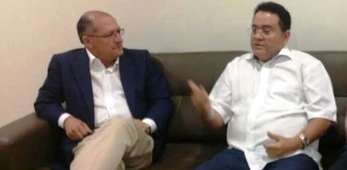 Alckimin é o principal interlocutor de Roberto Rocha no PSDB...