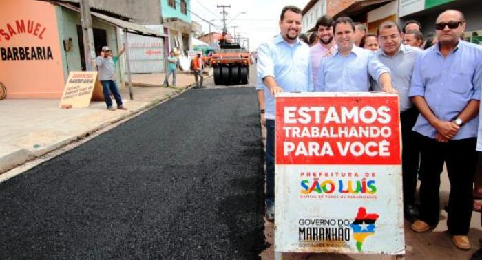 Noleto patrocinou diversas obras suspeitas em São Luís e no interior do estado