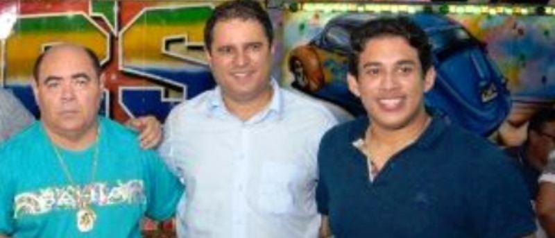 Astro com Edivaldo e Osmar: aliança na Câmara