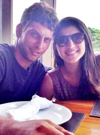 O casal Renato e Mariana: tragédia