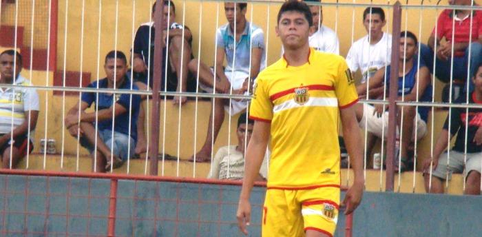 O jogador foi destaque das divisões de base do JV Lideral até 2012