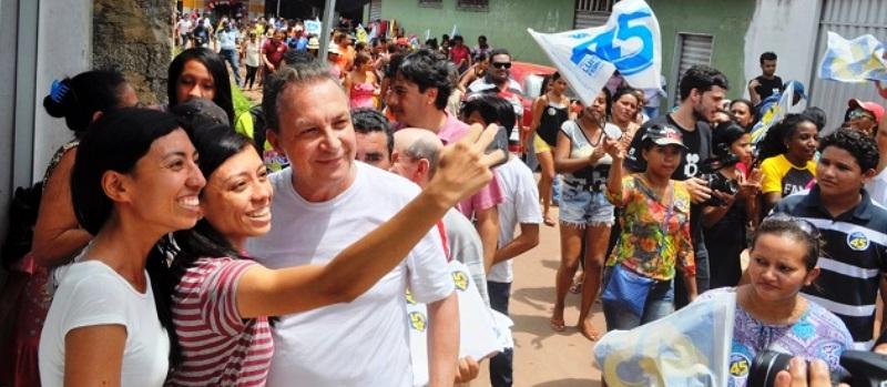 A força popular de Luis Fernando é inquestionável em São José de Ribamar