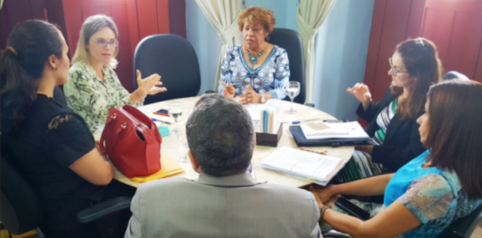 A juíza Cristiana Ferraz foi se explciar à corregedora-geral do Tribunal de Justiça, Anildes Cruz