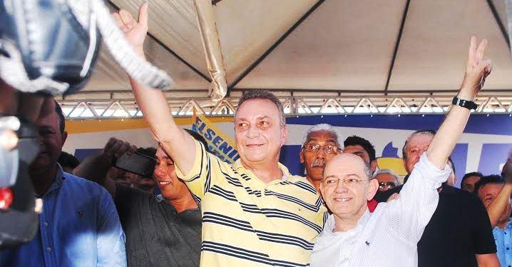 O prefieto eleito na convenção, que reuniu Doimingos Dutra, Carlos Brandão, Jos´pe Reinaldo, Gilberto Aroso, talita Laci, Gastão Vieira e Hildo Rocha