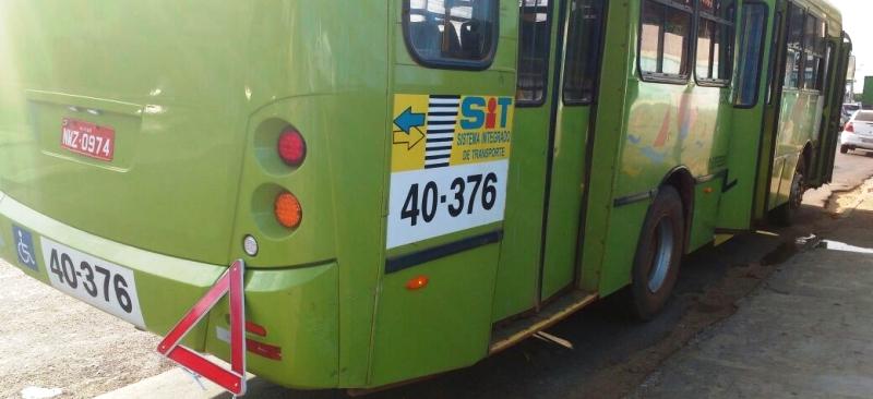 ônibus que pregou no Turu: linha de responsabilidade da 1001 Expresso
