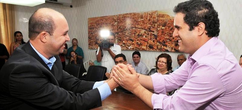 Robson Paz foi titular na Secom de Edivaldo, mas cuidou, basicamente, do projeto eleitoral do PCdoB