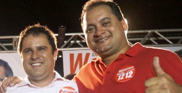 Edivaldo foia principal aposta de Weverton, que arregaçou as mangas em campanha e venceu
