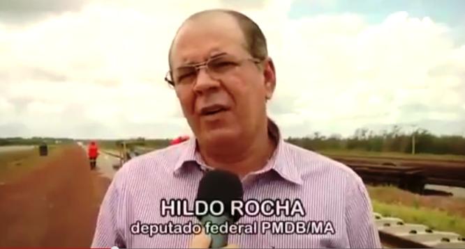 Hildo Rocha tem usado a questão da BR-135 como prioridade, ao contrário de Flávio Dino