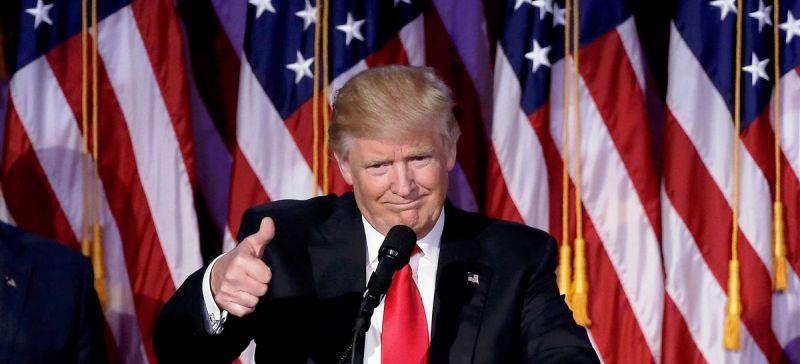 Donad Trump comemora vitória: ascensão do republicano agita comunidade de extrema direita no mundo inteiro