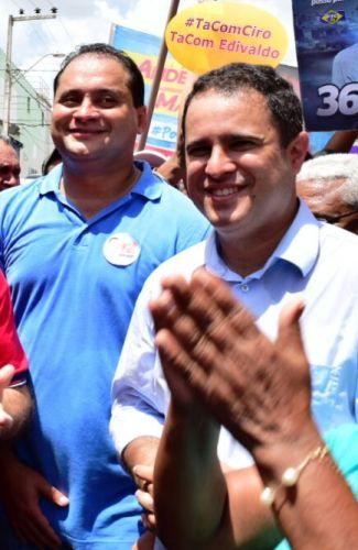 Weverton com Edivaldo: ninguém foi ás ruas pelo prefeito como ele