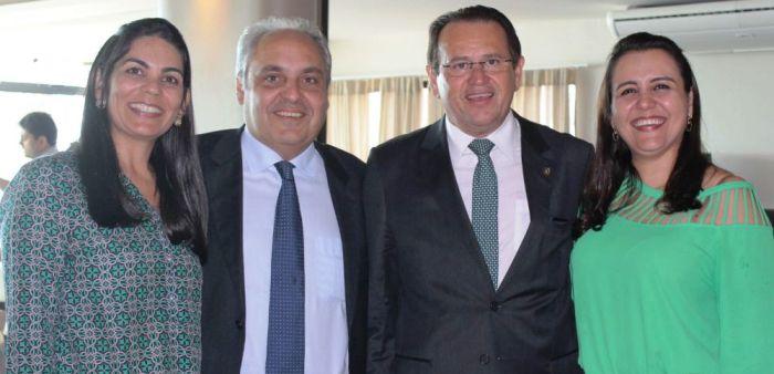 Stênio e esposa, com Marcelo Tavares e esposa