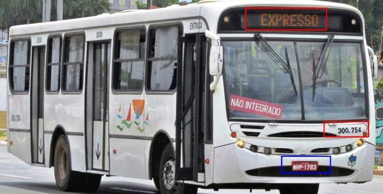 O ônibus 300.754 é um dos veículos velhos rodando em São Luís, que o consórcio insiste em negar que lhe pertence