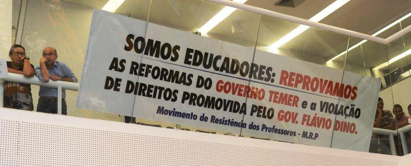 profes - Flávio Dino prejudica professores com aprovação de medida provisória - minuto barra