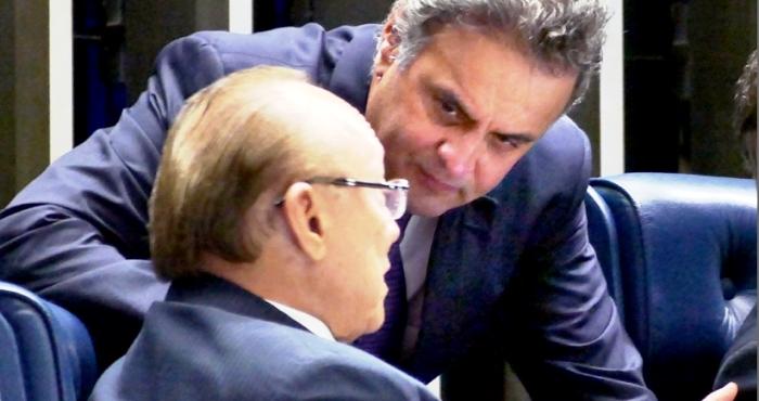 PMDB e PSDB agora sócios…