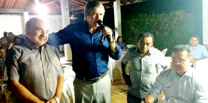 Ildon Marques e Madeira juntos, ao lado de Roberto Rocha… – Marco ...