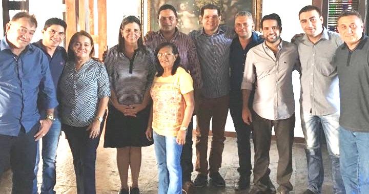 Roseana - Edilázio e Roseana, recebem apoio de grupo político de Matinha - minuto barra
